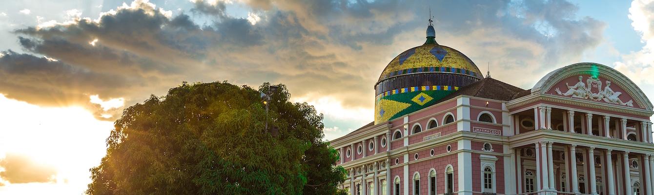 Paseo por el Centro Histórico de Manaos