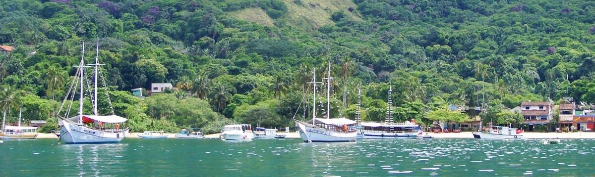 Excursión en barco por Ilha Grande