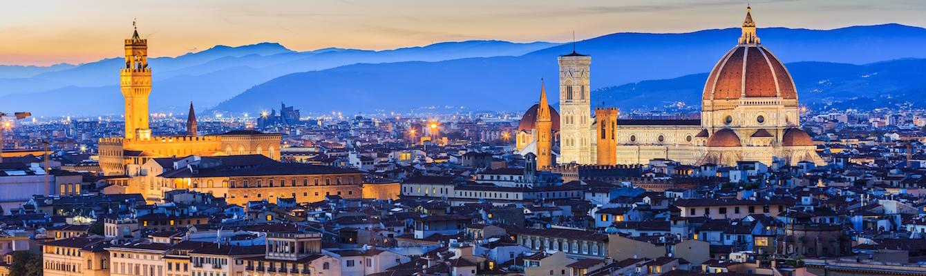 vistas desde el Piazzale de Michelangelo