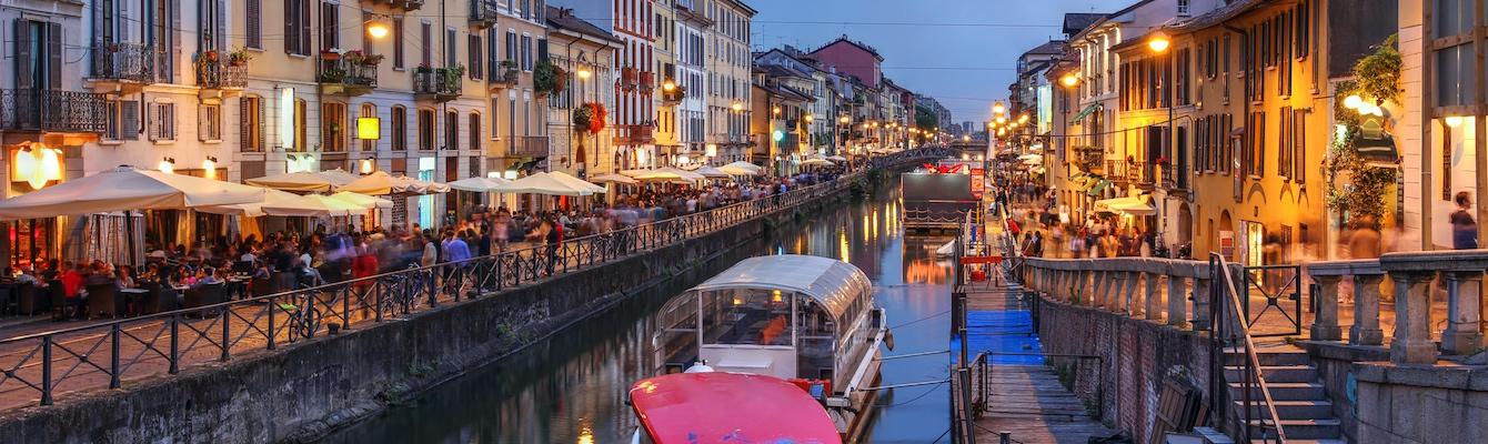 Paseo y Cena por Milán