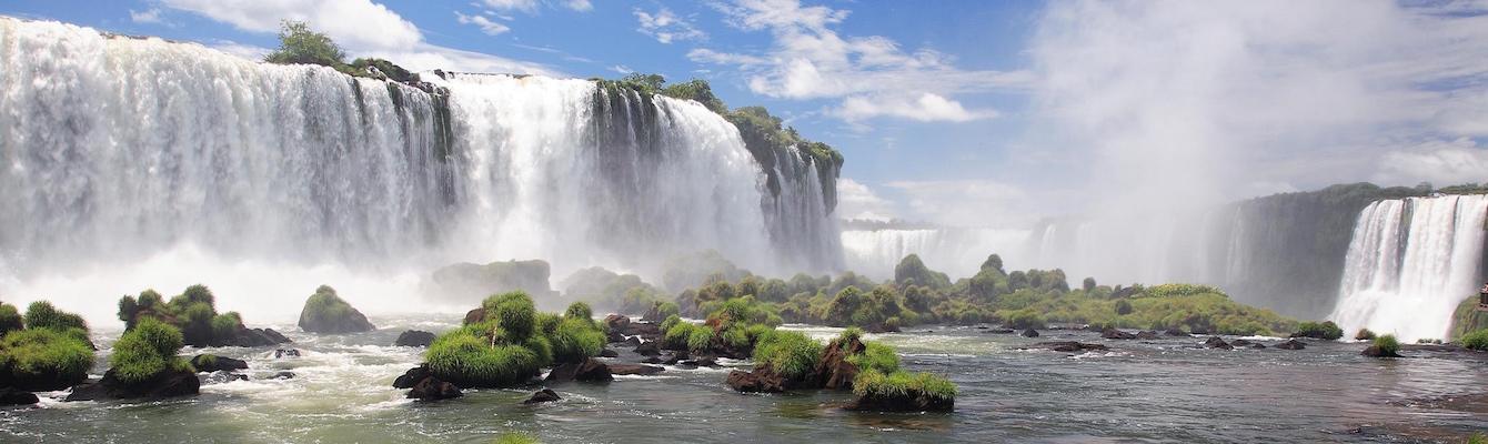 Cataratas del Iguazu por la parte brasileña