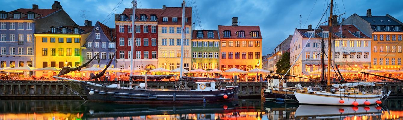 El Nyhavn de Copenhague