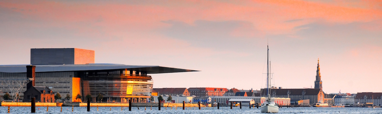 El Opera House y el Royal Danish Playhouse