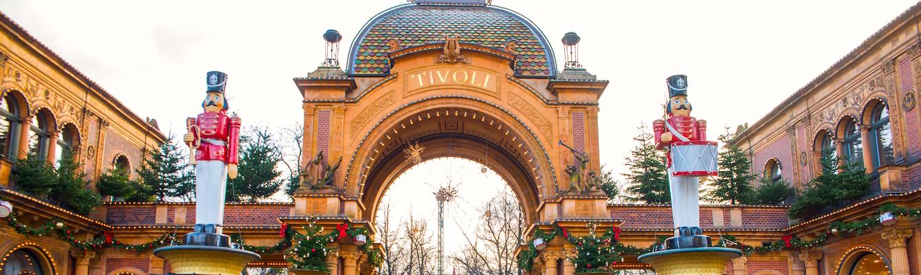 El parque de atracciones Tivoli