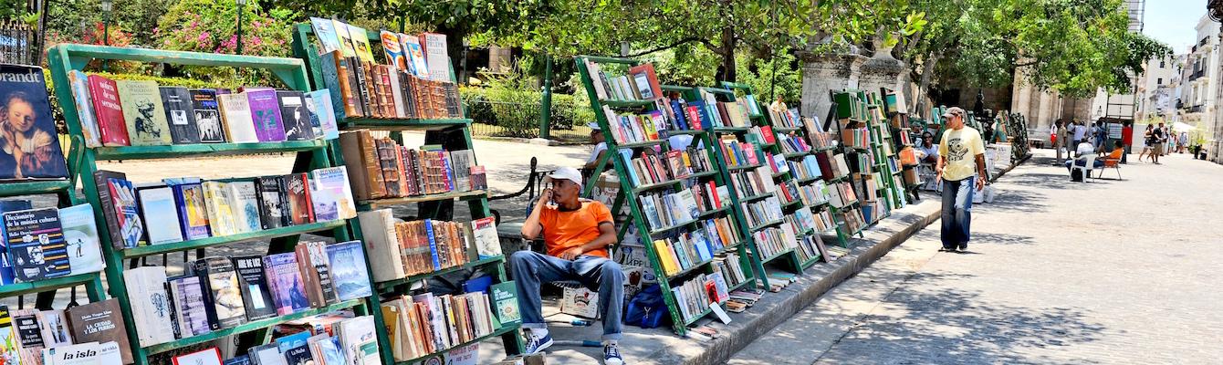 La Plaza de Armas de La Habana