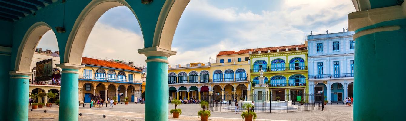 La Plaza Vieja, La Habana