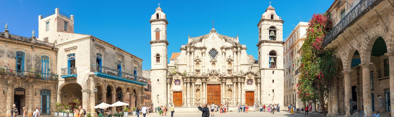 Plaza de La Catedral, La Habana