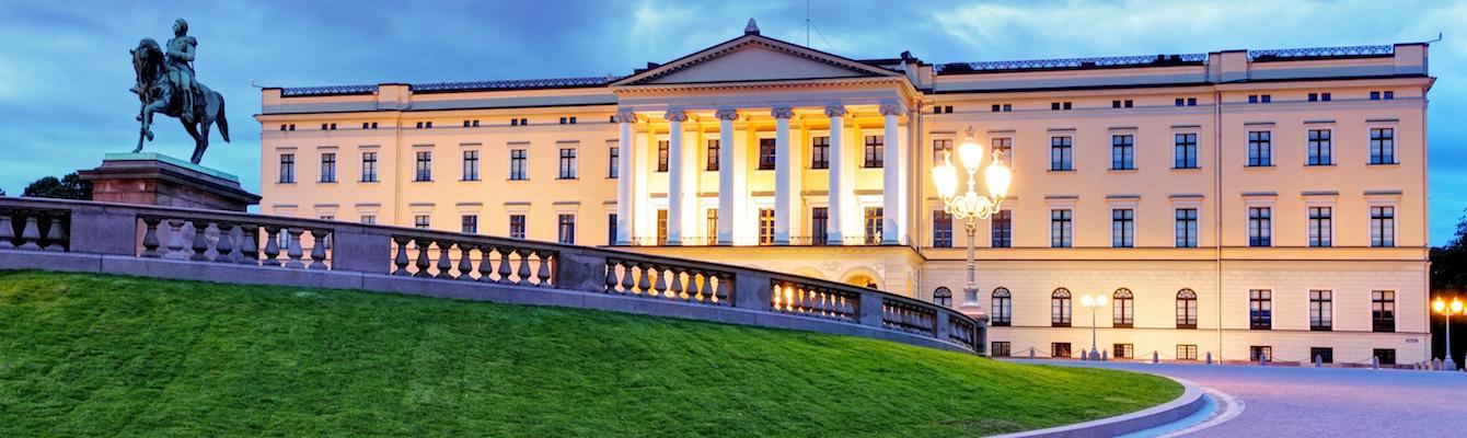 El Palacio Real de Oslo