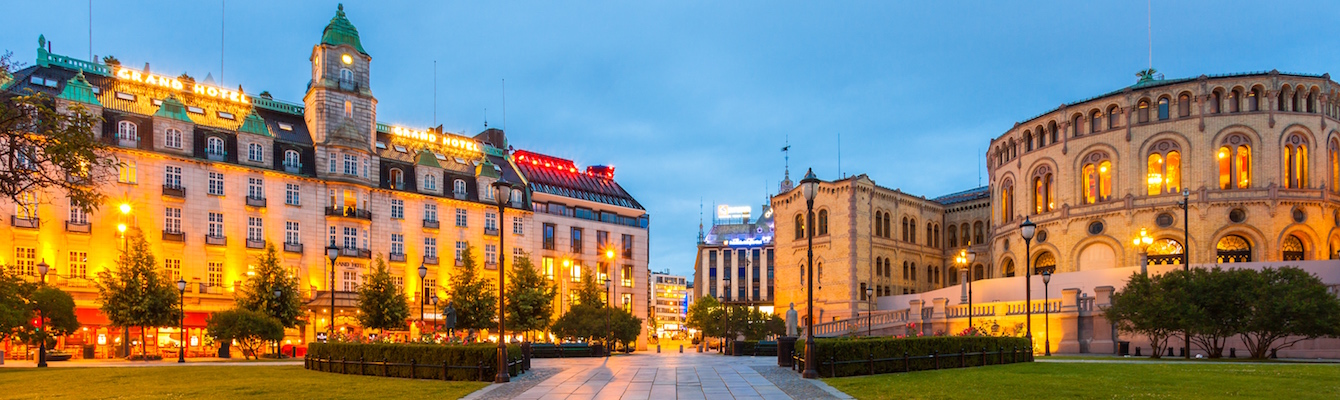 el centro de Oslo