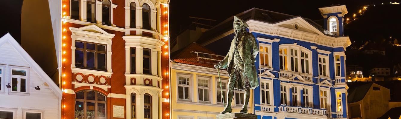Paseo por el centro de Bergen