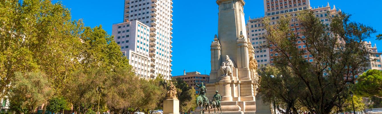 La Plaza de España, Madrid