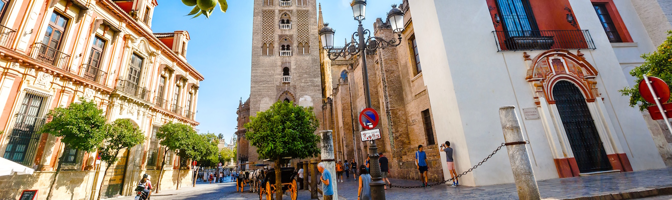 Paseo por el Barrio de Santa Cruz, Sevilla