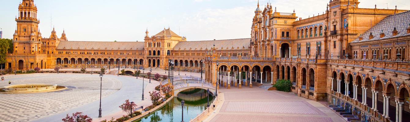 La Plaza de España, Sevilla