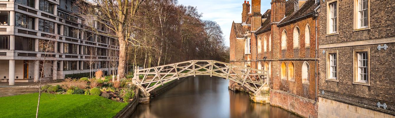 Jardines Traseros (The Backs), Cambridge
