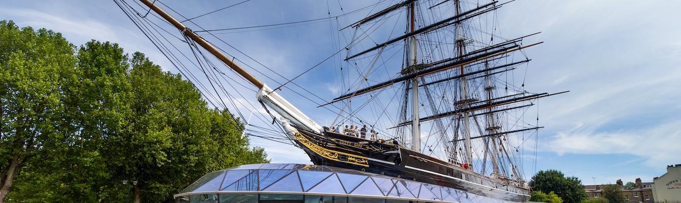 El Cutty Sark de Greenwich