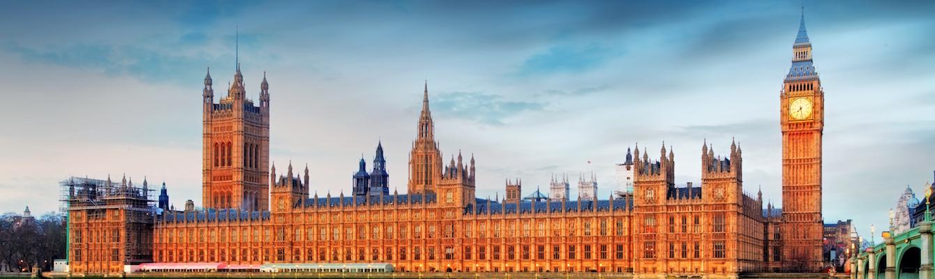 El Palacio de Westmister de Londres