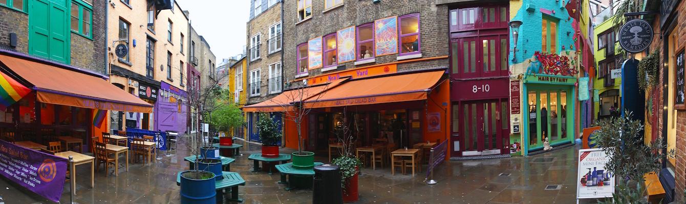 Neal's Yard de Londres