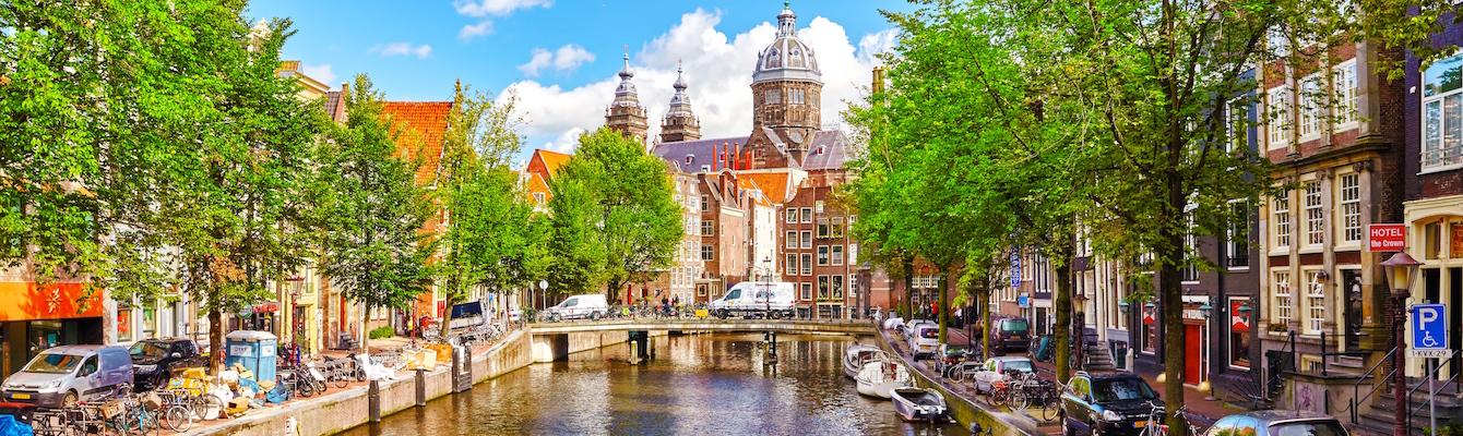 El barrio de los museos de Amsterdam