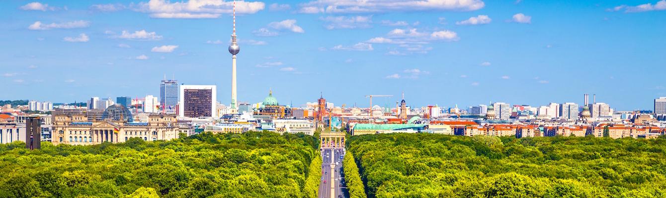 Parque de Tiergarten Berlin