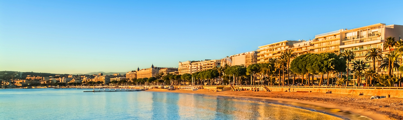 Las playas de Cannes