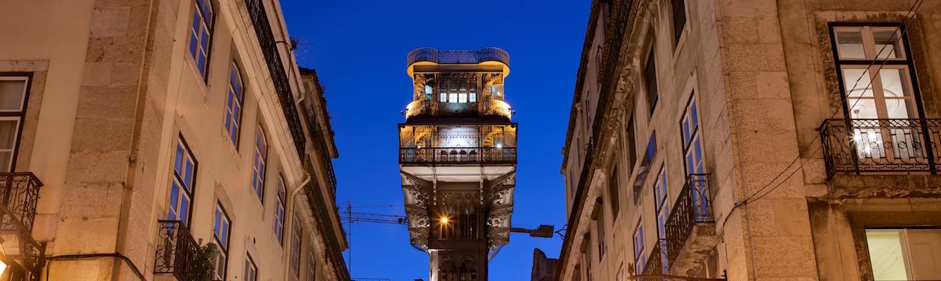 El Elevador de Santa Justa Lisboa
