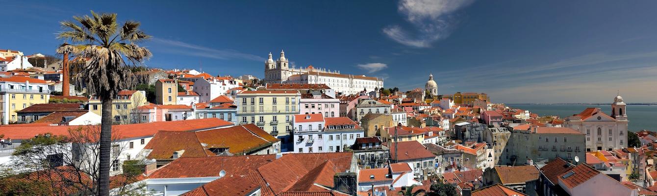 El mirador das Portas do Sol Lisboa
