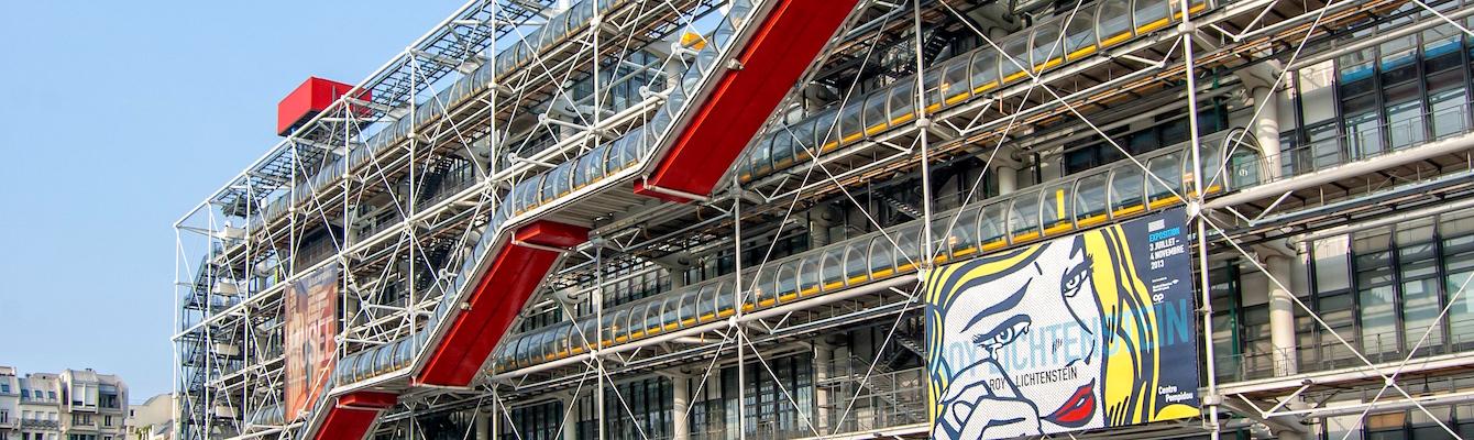 El Centro George Pompidou Paris