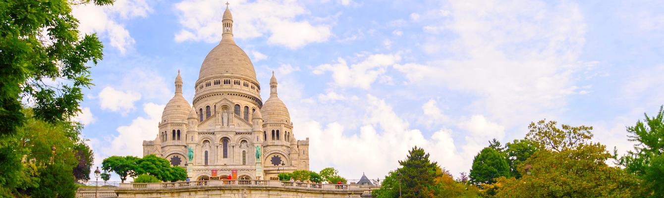 La Basílica del Sacre Couer  Paris