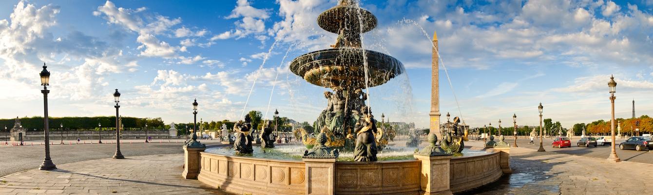 La Plaza de la Concordia Paris