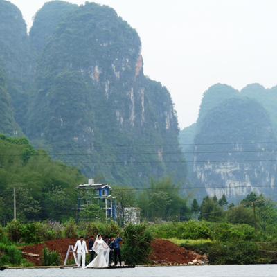 Javier Hernani viajó a China