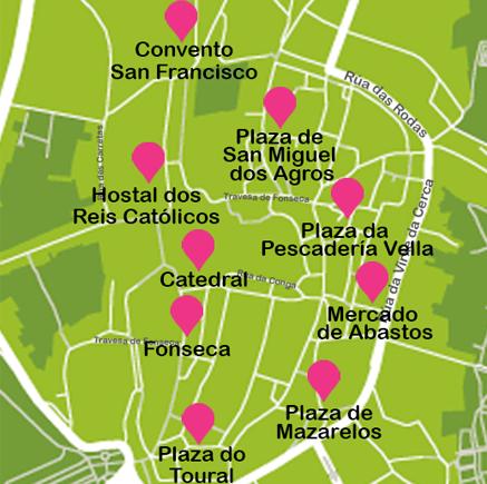 viajar a Santiago de Compostela un fin de semana