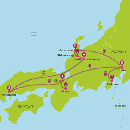 Japan in 14 days for independent travellers