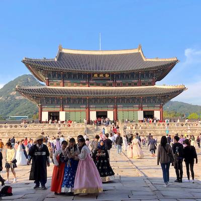 Seúl: los palacios
