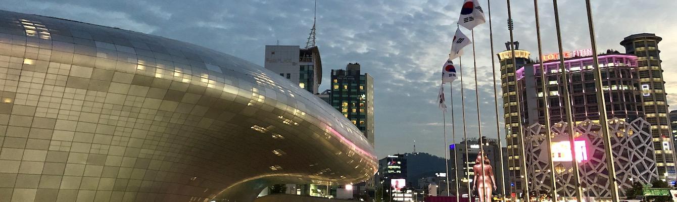 Dongdaemun design plaza.