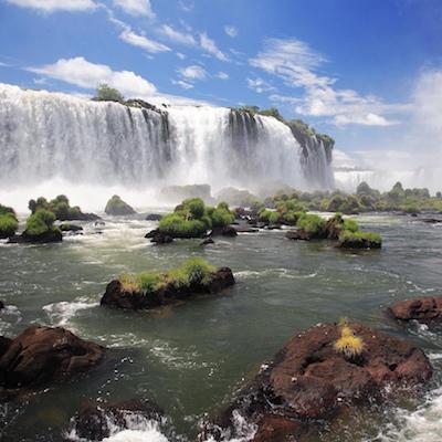 Cataratas de Iguazú por la parte brasileña