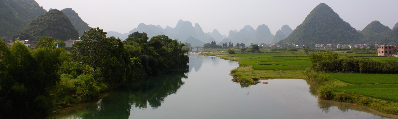 Río Yulong, Yangshuo