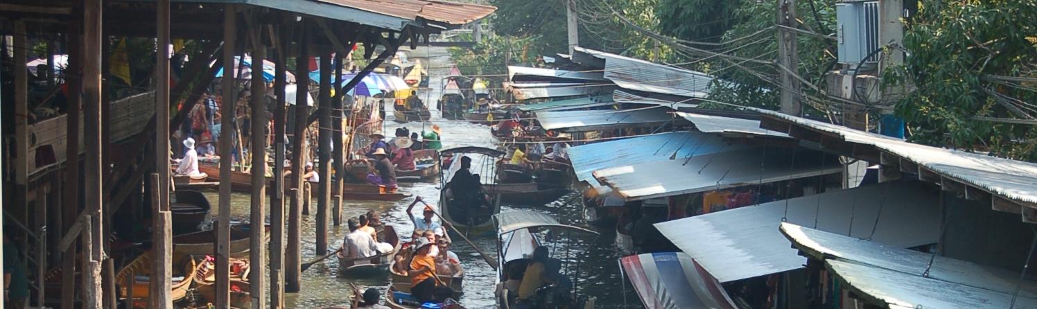 Mercado flotante de Taling Chan