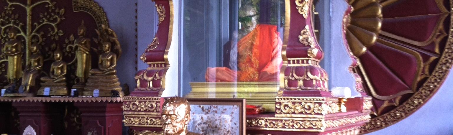 Thailand_Koh Samui_monje momificado