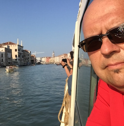 Gerardo Armentia traveled to Italy