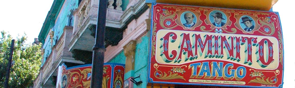 El Caminito, Buenos Aires, Argentina