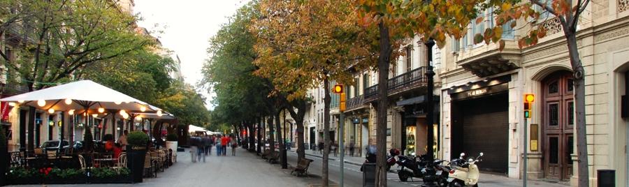 Rambla Catalunya, Barcelona
