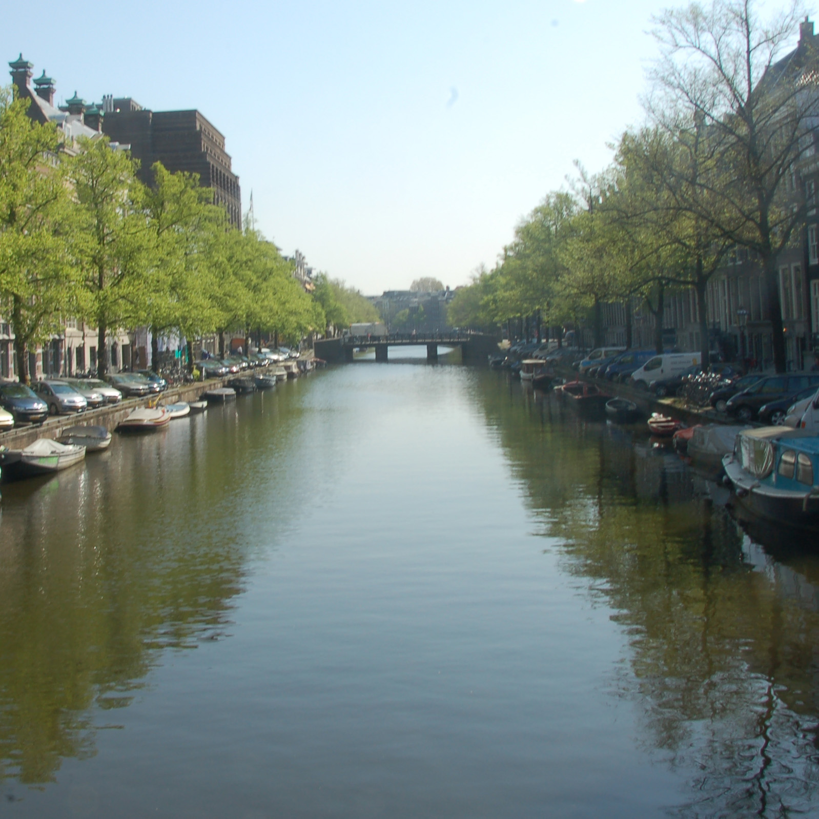 Antonio Clemente went to Amsterdam