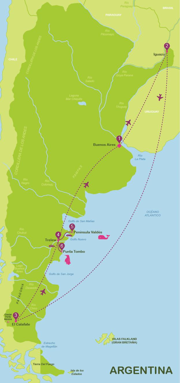 viajar a Argentina en 15 días (jul-dic)