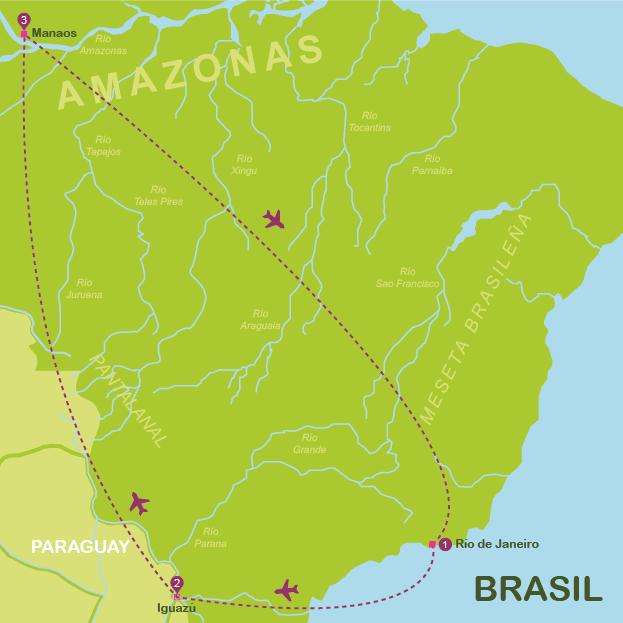 Mapa y plano Brasil #mapa #onlyes