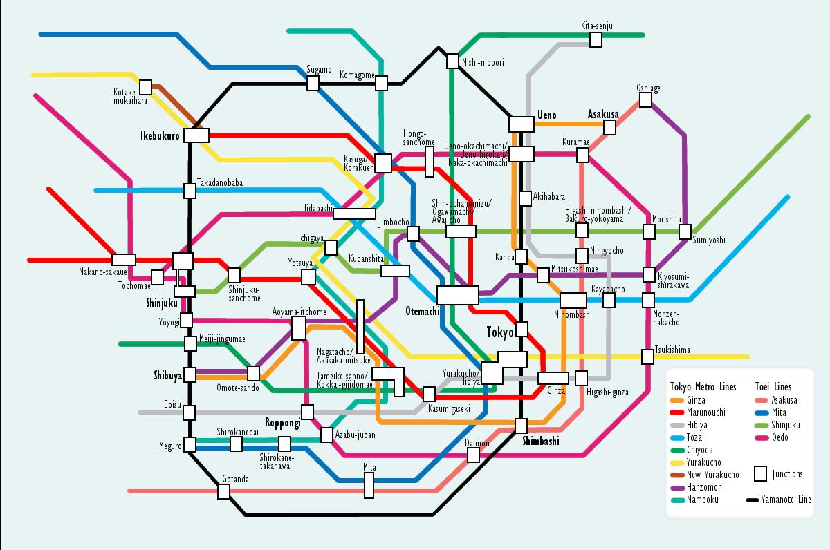 Tokio metro map JPG