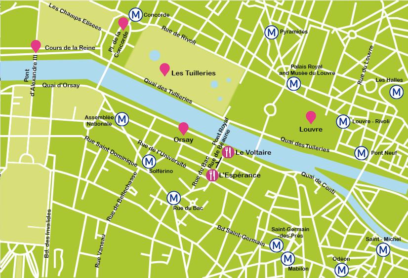 Mapa 1 París