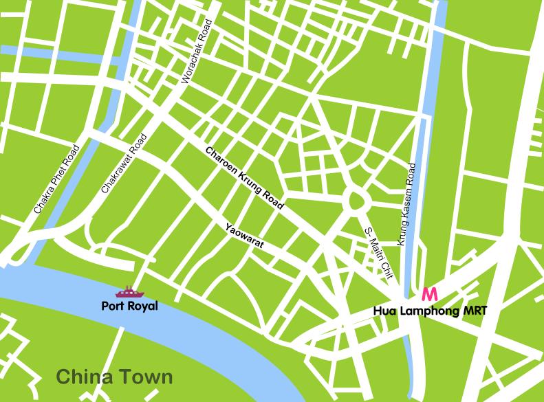 Mapa_4. Bangkok_Chinatown