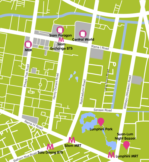 Mapa_5. Bangkok_Siam