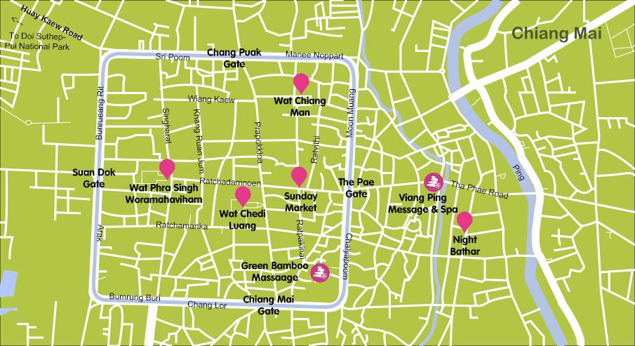 Mapa_6. Chiang Mai