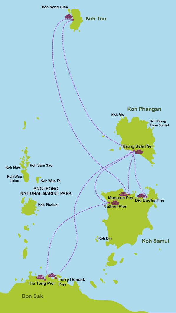 Mapa_11. Islas del Golfo de Tailandia
